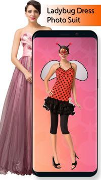 Ladybug Dress Photo Suit screenshot 2