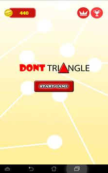 Don't Triangle apk screenshot