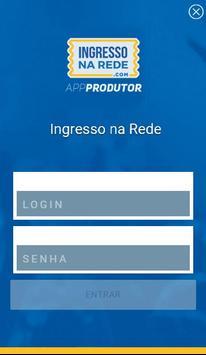 Ingresso na Rede - Produtor apk screenshot