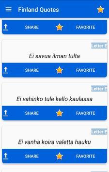 Finland Quotes screenshot 1