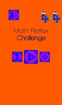 Math Reflex Challenge poster