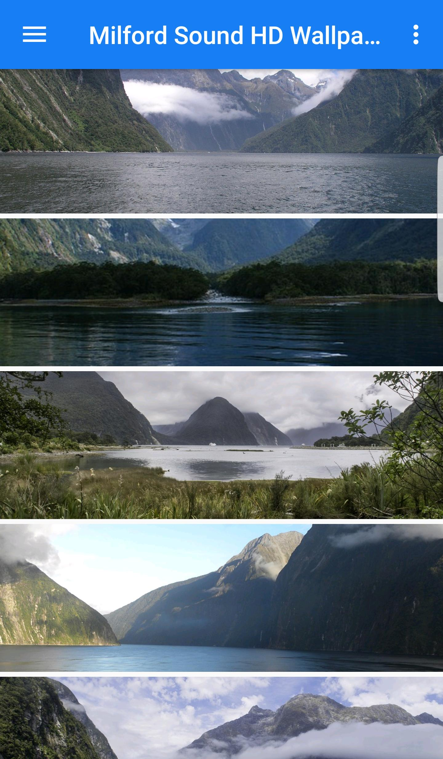 Milford Sound Hd Wallpapers For Android Apk Download
