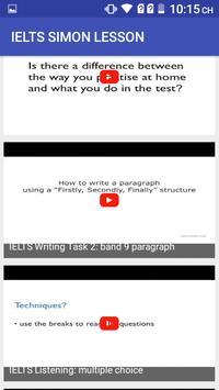 IELTS SIMON LESSON screenshot 1