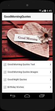 Good Morning Quotes 2017 poster