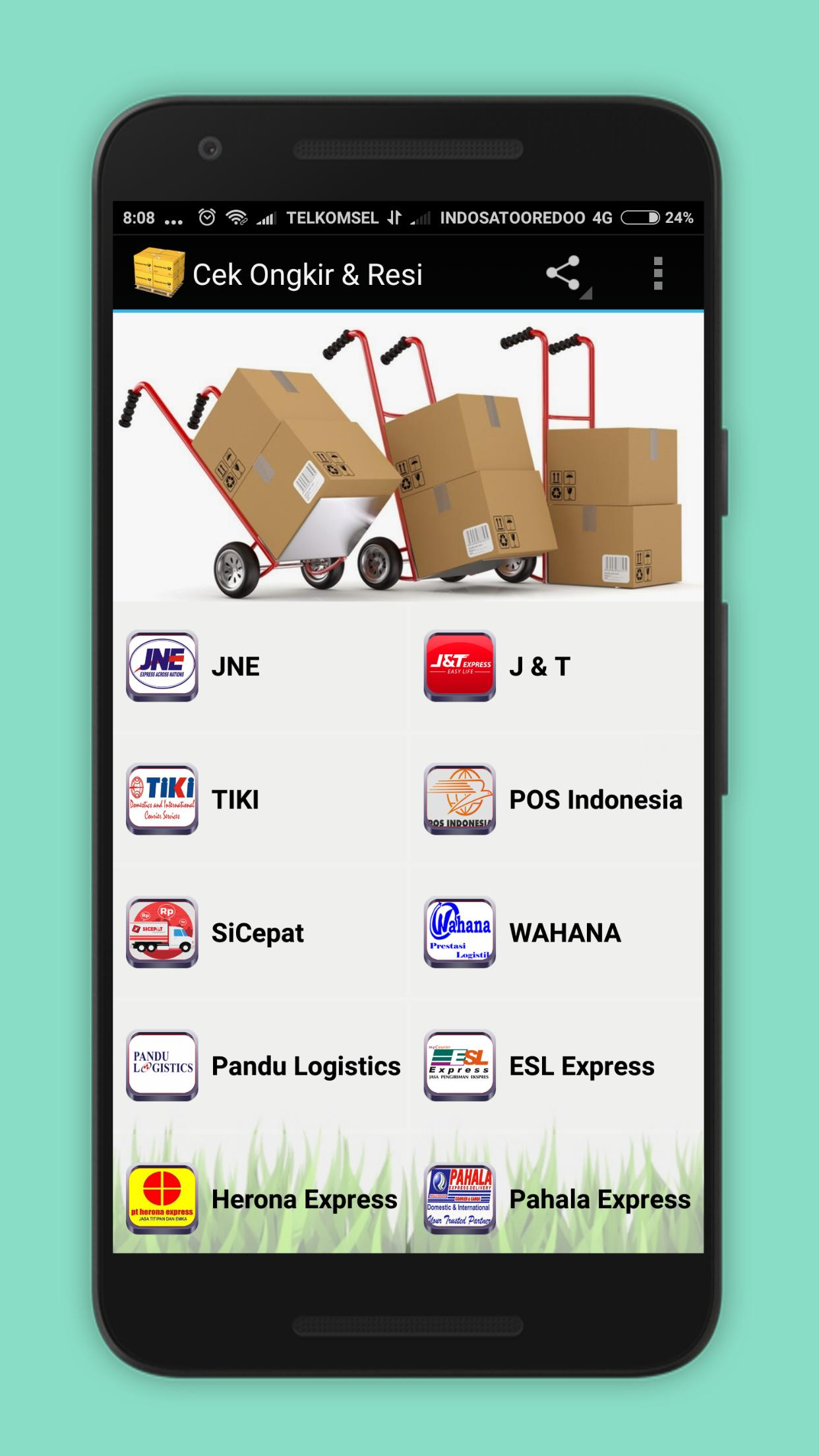 Cek Paket & Ongkir for Android - APK Download