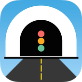 Closed road or tunnel? icon