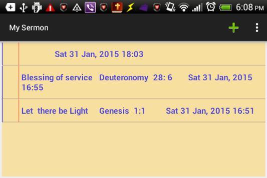 My Sermon - Service Notepad screenshot 4