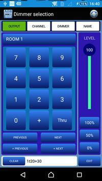 RDM Dimmer Remote apk screenshot