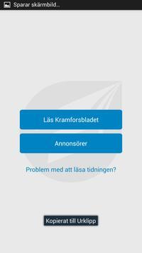 Kramforsbladet screenshot 1