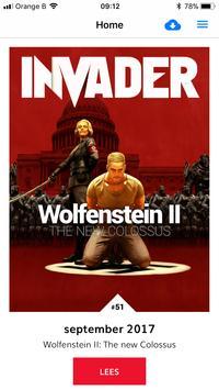 Invader Magazine poster
