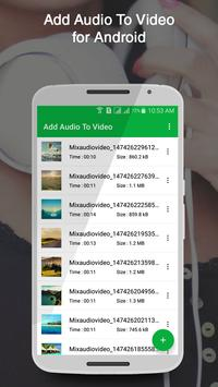 Add Audio To Video poster