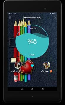 Been Love Memory - Love Counter 2018 apk screenshot