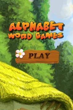 Alphabet Word Games poster