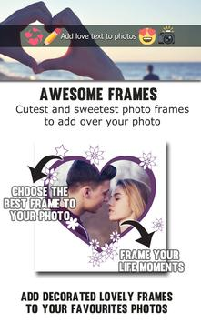 Add Love Text to Photos apk screenshot