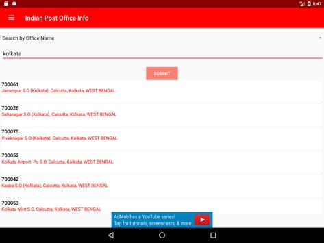 Indian Post Office Information(pincode and phone) screenshot 14