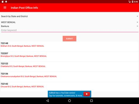 Indian Post Office Information(pincode and phone) screenshot 10