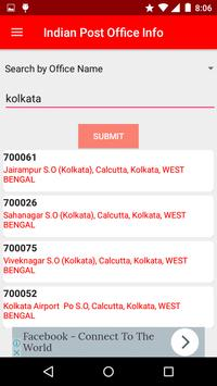 Indian Post Office Information(pincode and phone) screenshot 1