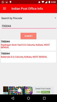 Indian Post Office Information(pincode and phone) screenshot 2