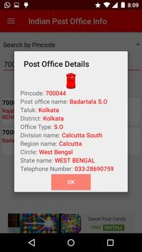 Indian Post Office Information(pincode and phone) screenshot 5