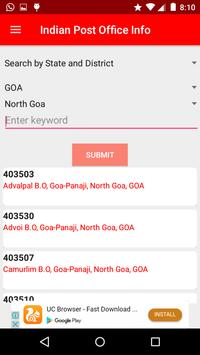 Indian Post Office Information(pincode and phone) screenshot 6