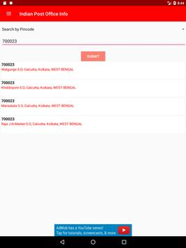 Indian Post Office Information(pincode and phone) screenshot 7