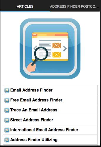 Address Finder Postcode for Android - APK Download