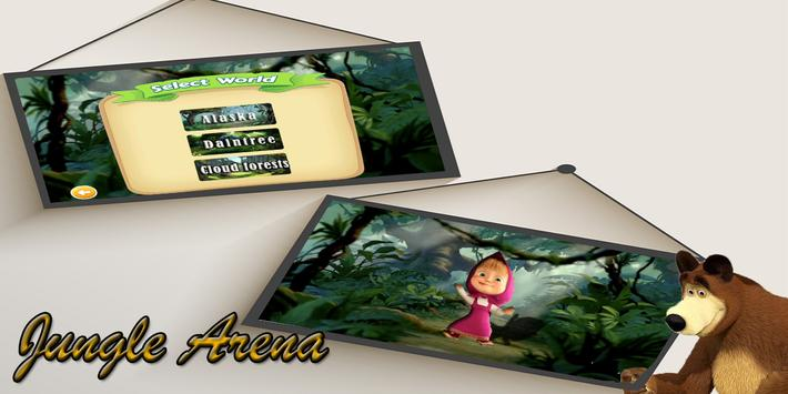Subway Masha Adventure Runner screenshot 4