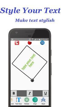 Write Text on Photos apk screenshot
