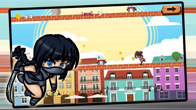 ninja girl poster