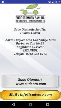Sude Oto - Hikmet Güven capture d'écran 4