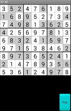 Sudoku Bulmacası poster