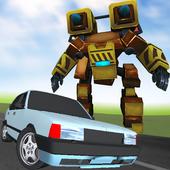 Robot Racer : Transformer Battle on Highway icon