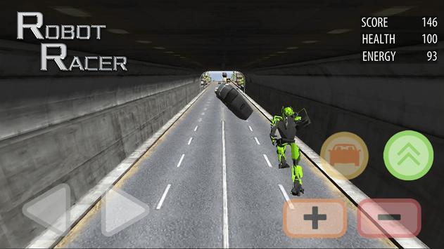 Robot Racer : Transformer Battle on Highway screenshot 3