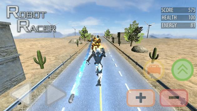 Robot Racer : Transformer Battle on Highway poster