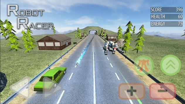Robot Racer : Transformer Battle on Highway screenshot 14