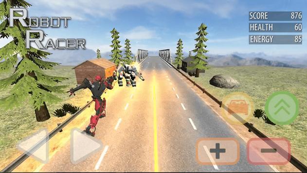 Robot Racer : Transformer Battle on Highway screenshot 8