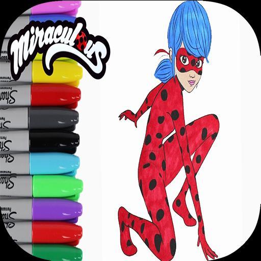 Coloriage Ladybug Chat Noir Dessins For Android Apk Download