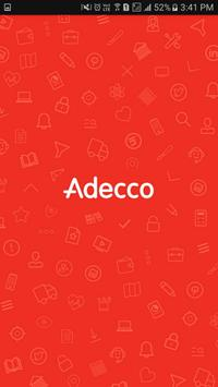 Adecco Nederland poster