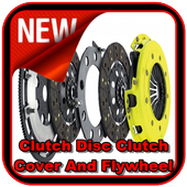 Clutch Disc Clutch Cover And Flywheel icon