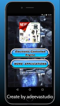 Electronic Controlled Engine poster