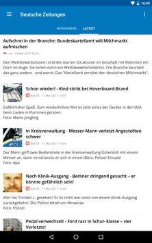 Germany News (Deutsche) apk screenshot