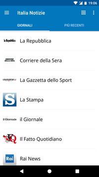 Italia News | Italia Notizie poster