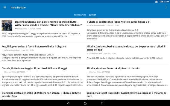 Italia News   Italia Notizie apk screenshot