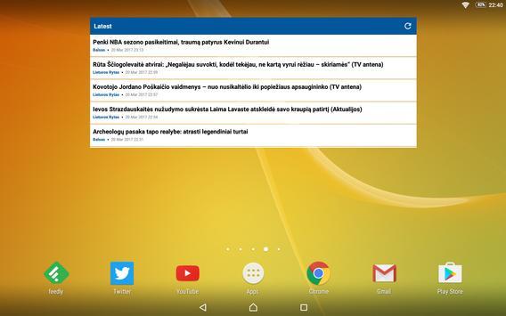 Lithuania News (Naujienos) apk screenshot
