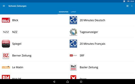 Switzerland News screenshot 8