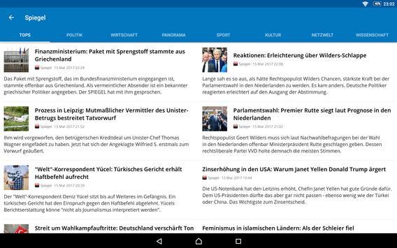 Switzerland News apk screenshot