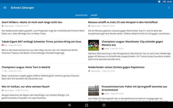 Switzerland News screenshot 14