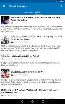 Switzerland News screenshot 22