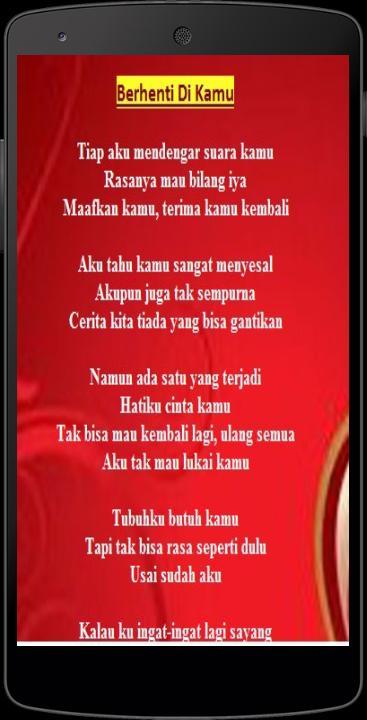 Lirik Dan Lagu Anji For Android Apk Download