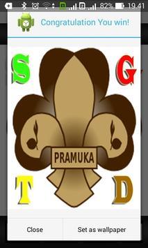 Puzzle Pramuka poster